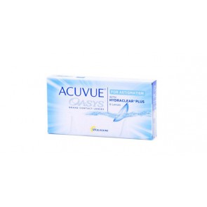 Acuvue Oasys for Astigmatism with Hydraclear Plus