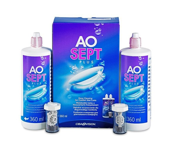 AOSEPT Plus 2 x 360 ml
