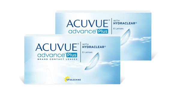 Acuvue Advance Plus with Hydraclear 12