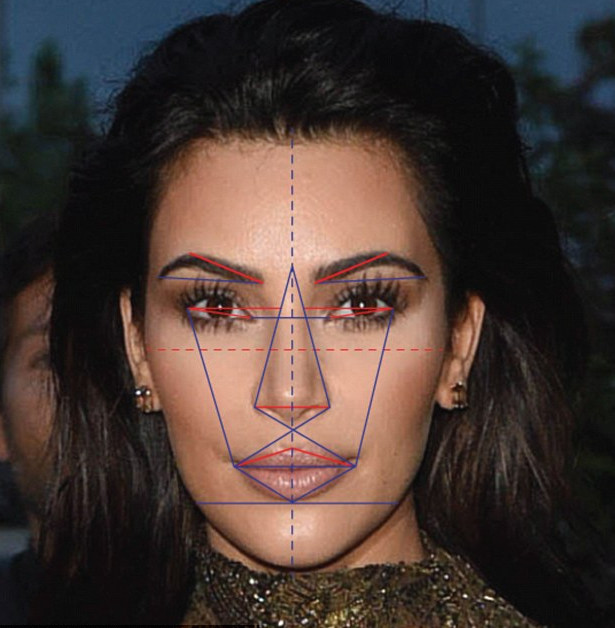 Amber Heard symmetrical face