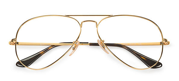 Ray-Ban Aviator Optic Eyeglasses
