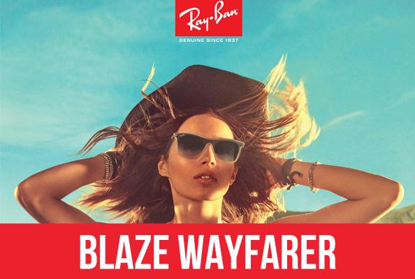 Lunettes de soleil Ray-Ban Blaze Wayfarer