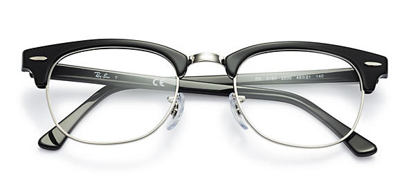 Ray-Ban Clubmaster Optic Eyeglasses