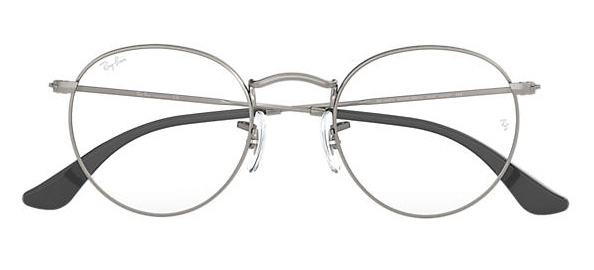 Ray-Ban Round Metal Optic Eyeglasses